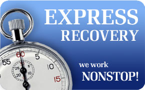 DATARECOVERY: express data recovery, data rescue - First Aid
